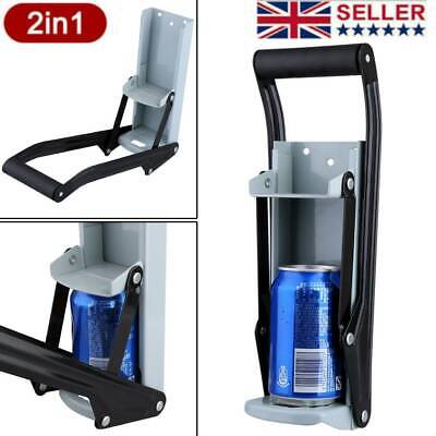 £7.78 • Buy 16oz Beer Press Crush Tin Can Crusher Wall Mounted Recycling Bottle Opener 500ml
