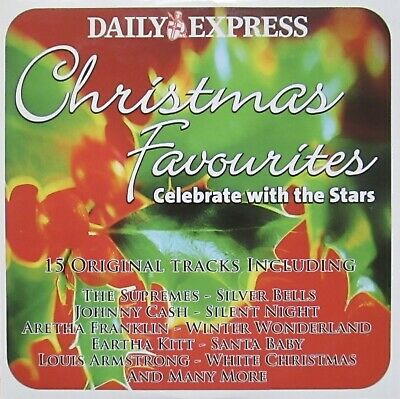 Christmas Favourites Music Cd Celebrate With The Stars Auld Lang Syne Santa Baby • 1.14£