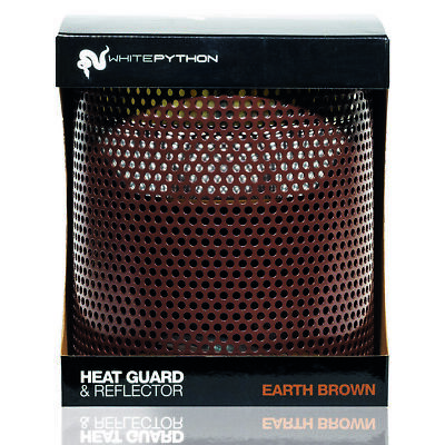 £29.11 • Buy White Python Heat Guard & Reflector Built In - For Reptile Ceramic Heater Bulbs