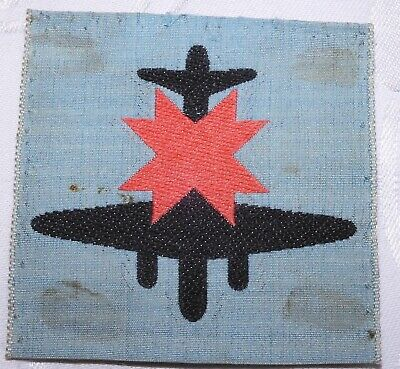 WW2 FORMATION SIGN BADGE 8th ANTI AIRCRAFT DIVISION WORLD WAR II EMBROIDERED • 0.99£