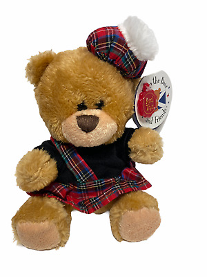 £10 • Buy Keel Toys Scottish Piper Bear Pipp The Bear And Friends Brand New With Tags