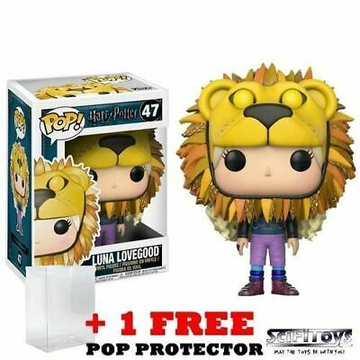 Harry Potter Luna Lovegood With Lion Hat 47 Pop Vinyl Figure Funko • 11.16£