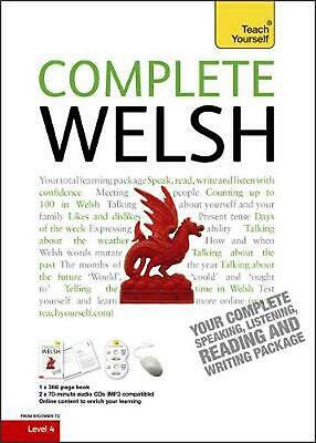 Complete Welsh Beginner To Intermediate Book And Audio Course: Learn To Read, Wr • 28.56£