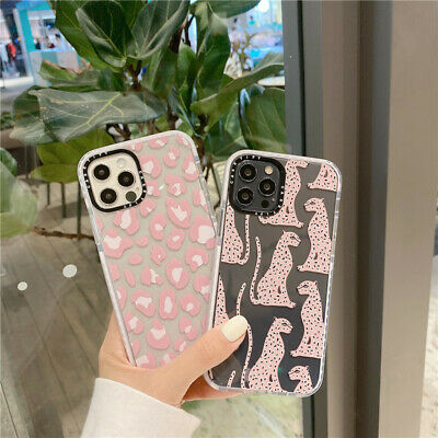 AU7.99 • Buy For IPhone 12 11 Pro Max XS XR X Cute Cartoon Leopard Shockproof Phone Case