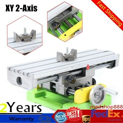 $81 • Buy Milling Machine Compound Work Table Cross Slide Bench XY 2-Axis Drill Press Vise