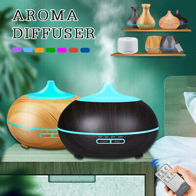 AU23.09 • Buy Ultrasonic Aroma Aromatherapy Diffuser LED Air Humidifier Purifier Essential Oil
