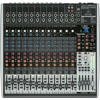 Behringer Xenyx X2442USB 24 Channel Mixer With USB Audio Interface • 130£