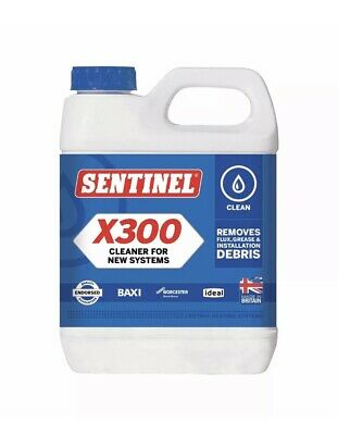 *lowest Price* Sentinel X300 Cleaner For New Systems Central Heating 1l  • 7.98£