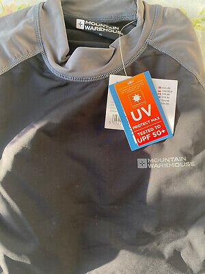 Mens Mountain Warehouee UV Protection Top Size M • 7.90£
