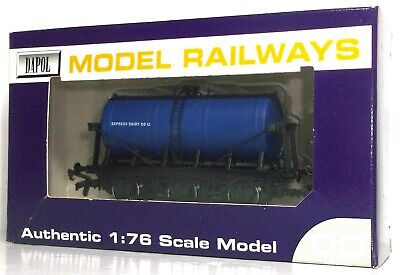 Dapol Express Dairy 6 Wheel Tank Wagon • 14.99£