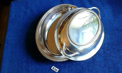 Antique Silver Plated Serving Entree Dish Tureen By William Suckling  • 31.99£