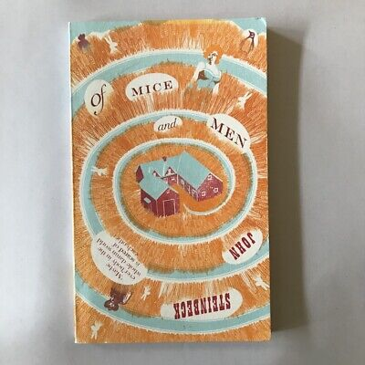 Of Mice And Men By John Steinbeck (Penguin Classic Paperback) Free P&P • 3.49£