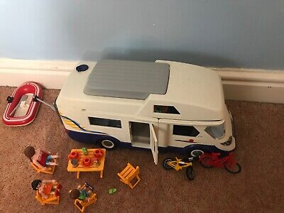 Playmobile Campervan And Tent • 12.50£