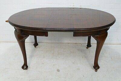 £165 • Buy Victorian Mahogany Wide Out Dining Table Raised On Cabriole Legs