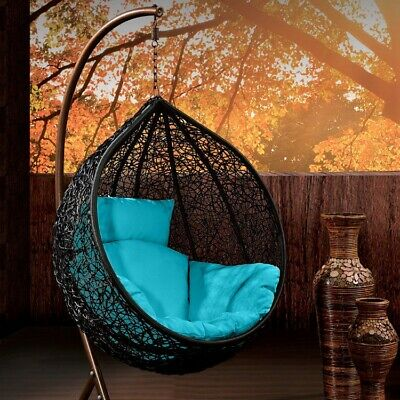 AU219 • Buy Brand New Outdoor Decor Hanging Swinging Egg/Pod Chair House Home Indoor Cushion