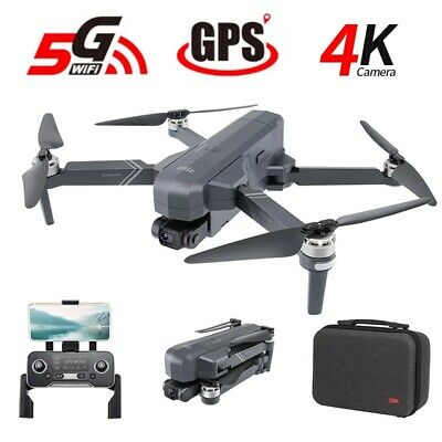 AU381.54 • Buy SJRC F11 Pro 5G RC Drone Pro Wifi FPV Folding Wide-Angle 4K HD Camera Quadcopter