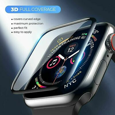 $ CDN5.64 • Buy Tempered Glass Screen Protector For Apple Watch IWatch 6 5 4 3 SE 38/40/42/44 Mm
