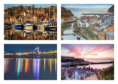 North Yorkshire Jigsaw Puzzle - 1000 Pieces - Christmas Gift Whitby, Saltburn • 19.95£