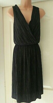 Red Herring Glitter Wrap Front Dress Cocktail Occasion Xmas Party Size 14 NWOT • 4.50£