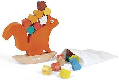 £24.99 • Buy Janod NUTTY BALANCE Squirrel Balancing Game Kids/Childrens Wooden Toy  BN