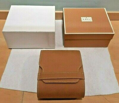 EBEL Watch BOX, POUCH & CUSHION SET In VERY GOOD CONDITION ** NO RESERVE ** • 26.99£