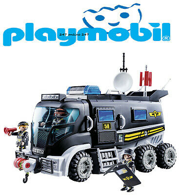 Playmobil 9360 City Action SWAT Truck With Lights And Sound • 43.99£