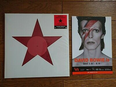 DAVID BOWIE Is ONLY In JAPAN EXHIBITION Red Color 12  Brand NEW W/ Leaflet • 58.44£