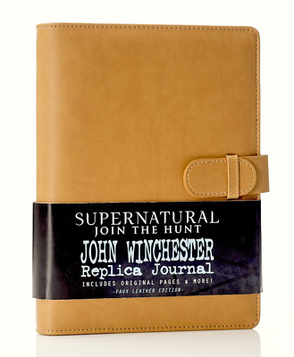 £41.36 • Buy Supernatural John Winchester's Journal, Official Replica From Supernatural, Incl