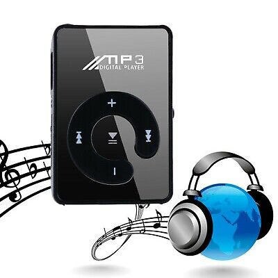 £3.20 • Buy Portable Digital MP3 Player Clip USB Music Play Support 16GB Micro SD TF Card UK