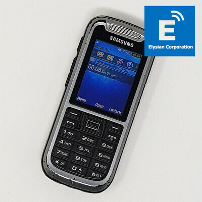 Samsung Solid X-Cover (GT-C3350) - Mobile Phone - Grey - Unlocked -Grade D #1919 • 49.95£