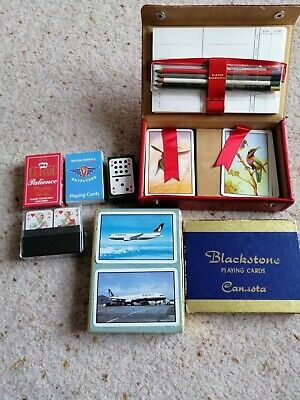 Packs Of Vintage Playing Cards Job Lot Collectable  • 8£