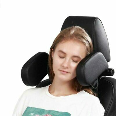 AU44.18 • Buy Car Seat Headrest Neck Soft Pillow Adult Child Leather Roadpal