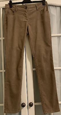 Ladies Fine Cord Jeans Skinny Trousers By Next Size 12 • 2£