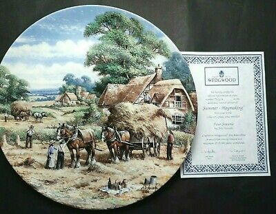 Wedgwood  Four Seasons  By Chris Howell. 4 X Collectors Plates • 16£