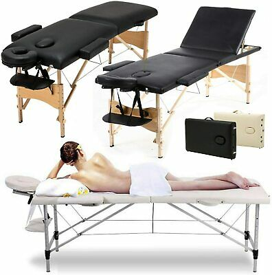 Folding Lightweight Portable Massage Table Beauty Salon Bed Therapy Couch Relax  • 72.60£
