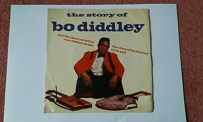 'the Story Of Bo Diddley ' Ep  - 1963 ? • 3.50£