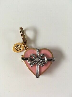 £65 • Buy Juicy Couture Limited Edition 2009 Heart Charm & Bracelet Boxed - Good Condition
