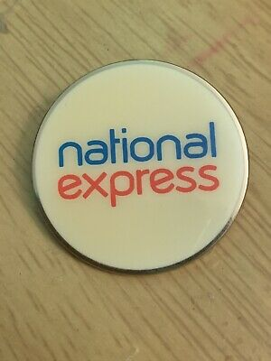 National Express Badge Perfect Condition • 9£
