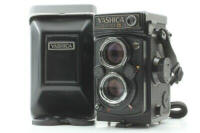 【NEAR MINT Meter Works】 Yashica Mat 124G 6x6 TLR Medium Format Camera From JAPAN • 369.66£