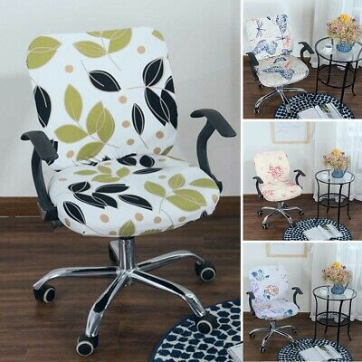 AU12.34 • Buy Computer Chair Cover Elastic Modern Separate Home Office Rotating Simplism Style