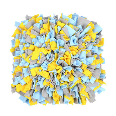 AU18.30 • Buy Nose Work Woven Sniffing Pad Home Pet Toys Feeding Dog Snuffle Mat Smell Blanket