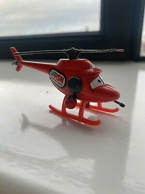 Disney Pixar Cars - RSN RACING SPORTS NETWORK HELICOPTER  • 1£