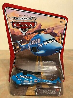 Disney Pixar The World Of Cars Dinoco Helicopter #27 Diecast • 5.95£
