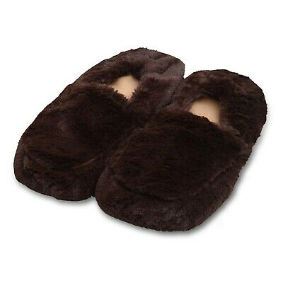 £10.99 • Buy Warmies Microwavable Luxurious Slippers Heat Slippers Warm Lavender Scents Feet