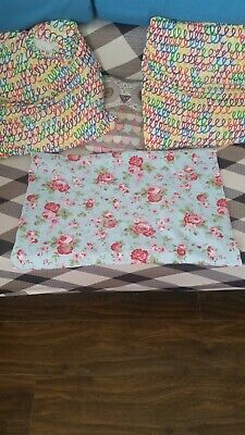 Cath Kidston By Ikea Rosali Blue Rose A Pair Of Pillowcases • 7£