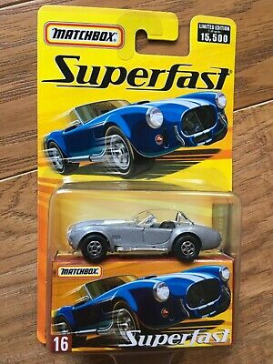 $9.95 • Buy 2006 MATCHBOX SUPERFAST 1965 SHELBY COBRA 427 S/C Silver 16