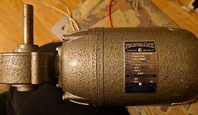 PARVALUX SD-12M  ELECTRIC MOTOR 200/220V 4000RPM 1/4HP Plus DC CONTROLLER • 70£