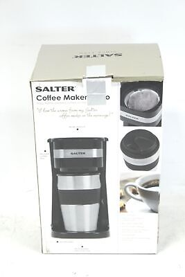 SALTER 700W Coffee Maker To Go 420ml Personal Filter Coffee Machine BOXED - K25 • 9.99£