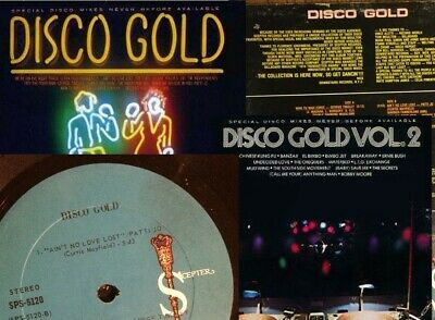 TOM MOULTON  DISCO GOLD VOLS 1&2  DRAWN FROM SCEPTER RECORDS, 2 X CDs PROMO SET • 24.99£
