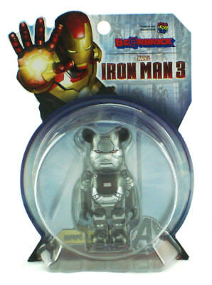 $49.99 • Buy Marvel Medicom War Machine Bearbrick 100% Figure Be@rbrick Iron Man 3 New